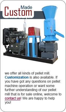 Custom Made Pellet Mill