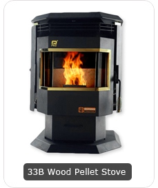 Wood Pellet Stove Fireplace