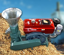 Pellet Machine (with Diesel Engine)