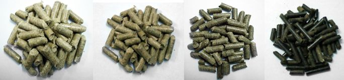 Pelletizer Machine Pellets