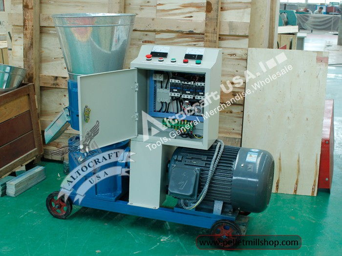 wood pelletizer machine