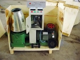 Pellet Machine Packaging